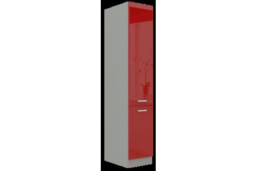 Komin gospodarczy AGA 40 DK-210 2F czerwony połysk