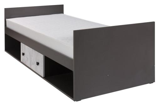 Łóżko Tommy 96 cm nr 20 enigma/grafit