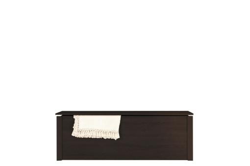 Skrzynia na pościel Finezja 150 cm dąb sonoma/czekolada