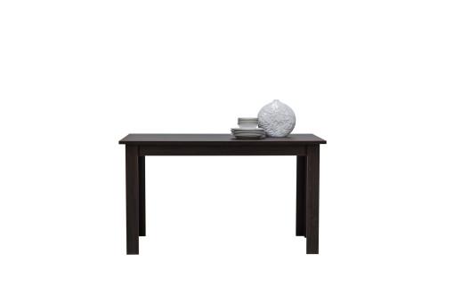 Stół Finezja 138 cm dąb sonoma/czekolada
