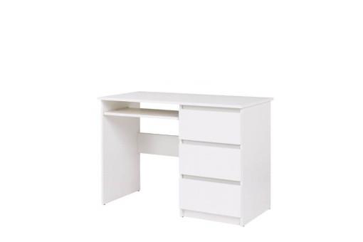 Biurko Cosmo 110 cm biały mat