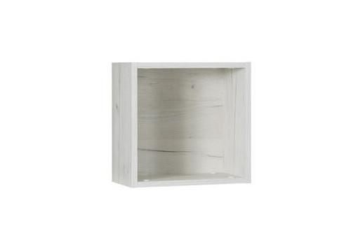 Półka wisząca Rest 35 cm dąb craft biały/popiel