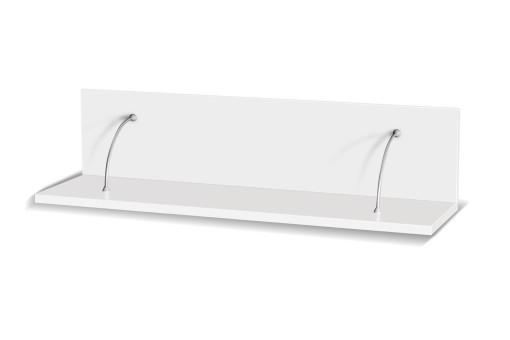 Półka Maximus 100 cm biały