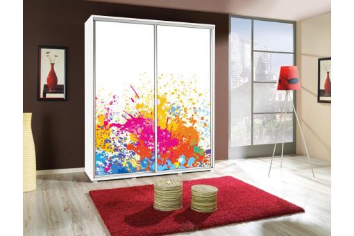 Szafa Penelopa ART 3 155 cm - 4 kolory