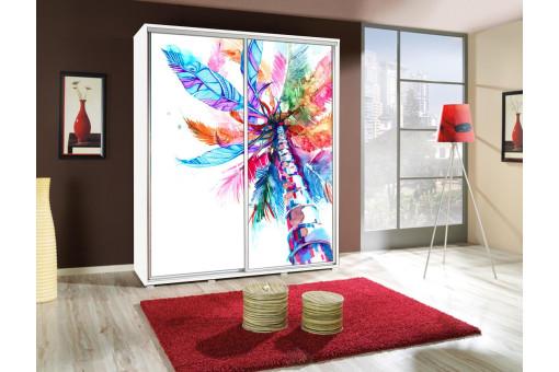 Szafa Penelopa Palma 2 155 cm - 4 kolory