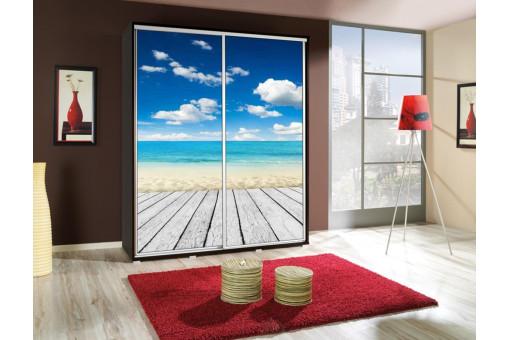 Szafa Penelopa Plaża 1 155 cm - 4 kolory