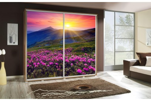 Szafa Penelopa Góry2 205 cm - 4 kolory