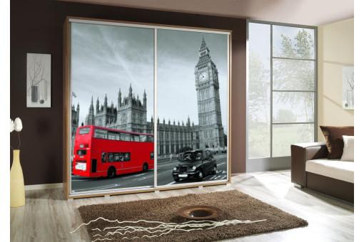 Szafa Penelopa Londyn 2 205 cm - 4 kolory