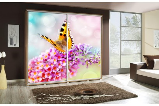 Szafa Penelopa Motyl 1 205 cm - 4 kolory