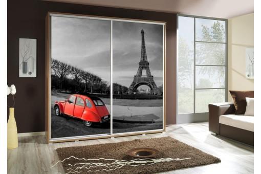 Szafa Penelopa Paryż 205 cm - 4 kolory