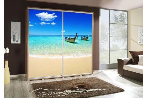 Szafa Penelopa Plaża 2 205 cm - 4 kolory