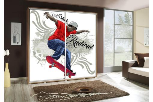 Szafa Penelopa Skate 2 205 cm - 4 kolory