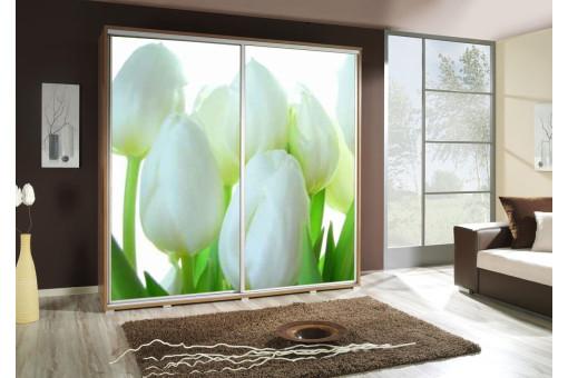 Szafa Penelopa Tulipany 205 cm - 4 kolory