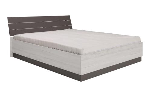 Łóżko Dione 174 cm sosna norweska/popiel