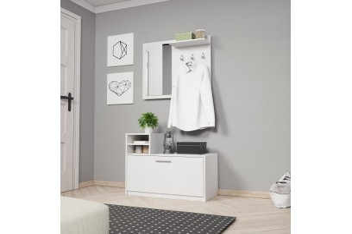 Garderoba Luna biały