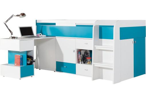 Łóżko z biurkiem Mobi MO21