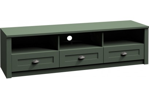 Szafka Rtv Prowansja 158 cm green