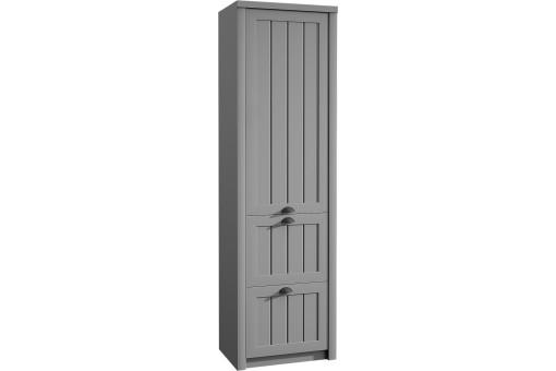 Szafa S1D2S Prowansja 62 cm grey