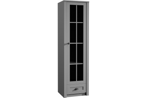 Witryna W1S Prowansja 50 cm grey