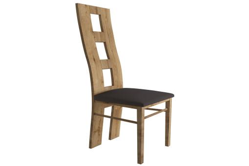 Krzesło KRZ5 Montana smooth grey/dąb lefkas ciemny