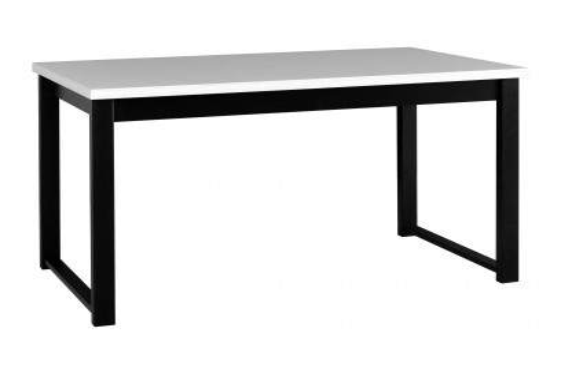 Stół Alba 3 biały/czarny