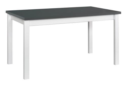 Stół Alba 4 grafit/biały