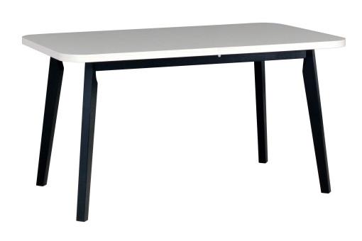 Stół Oslo 6 biały/czarny