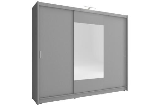 Szafa Wiki 250 cm grafit