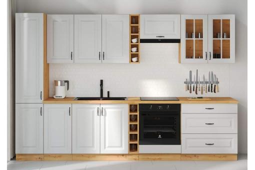 Zestaw kuchenny biały 315 cm Stilo