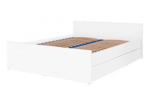 Łóżko Cosmo 150 cm biały mat